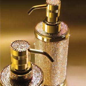 Swarovski Crystal Bathroom Accessories